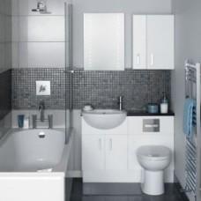 Дизайн ванной комнаты, совмещенной с туалетом