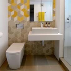 Дизайн маленького туалета: советы по выбору плитки и унитаза